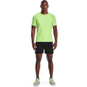 Under Armour Isochill Run 200 Short Sleeve Shirt Men summer lime-hyper-green